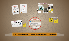 112.7 Deviance, Crime, and Social Control