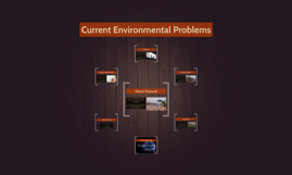 Current Environmental Problems