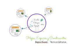 Hojas, Especias y Condimentos