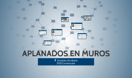 APLANADOS EN MUROS