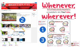 Informationskompetenz mit YouTube