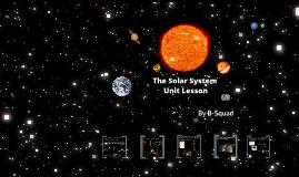 The Solar System Unit Lesson