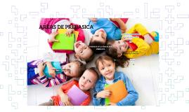 AREAS DE PRESCOLAR