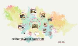 Copy of PETITS TALENTS CIENTÍFICS