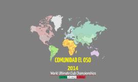 COMUNIDAD EL OSO