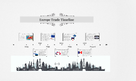 Europe Trade Timeline