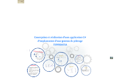 Copy of Copy of Copy of Conception et réalisation d'une application C# d'implantatio