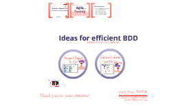 Ideas for efficient BDD with SpecFlow