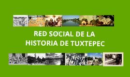 Copy of RED DE LA HISTORIA DE TUXTEPEC