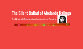 The Silent Ballad of Abelardo Kalinga