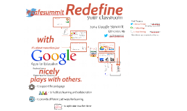 Google Apps to Redefine your Classroom