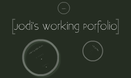 Working Portfolio - Fall 2010