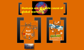 are humans the cause of global