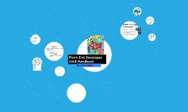 Front-End Developer 2018 Hankbook