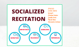 Socialized Recitation