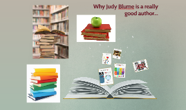Judy Blume one of my favourite authours