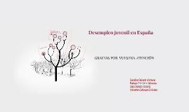 Desempleo juvenil en España
