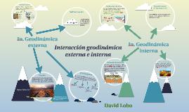 Interacción geodinámica externa e interna