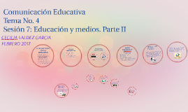 Copy of Comunicación Educativa
