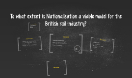Copy of To what extent is Nationalisation a viable model for the Bri