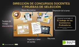 El trabajo de las Comisiones Evaluadoras en Pruebas de Selección y Concursos