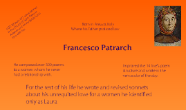 sonnet 90 by francesco petrarch Start studying poems learn vocabulary, terms, and more with flashcards, games, and other study tools  sonnet (petrarch) little we see in nature that is ours.