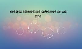 modelos pedagogicos enfocados en las ntic