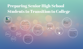 Preparing Senior High School Students to Transition to Colle