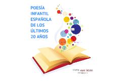 Copy of Poesía infantil