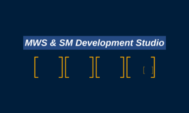 MWS & SM Development Studio