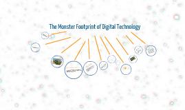 The monster footprint of digital technology