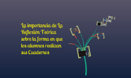 Copy of La importancia de los Cuadernos de Trabajo.