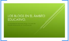 Los blogs educativos