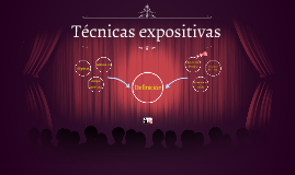 Copy of Técnicas expositivas