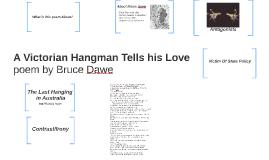 A Victorian Hangman Tells his Love