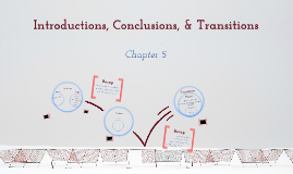 Introductions, Conclusions, Transitions