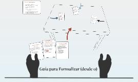 Guía para Formalizar (desde 0)