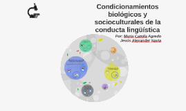 Condicionamientos biológicos y socioculturales de la conduct