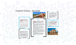 Country Towns - Analysis