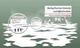Copy of Rating Exercise Intensity