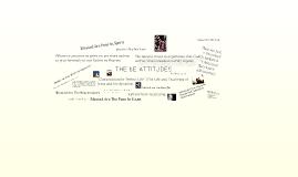 Be Attitudes (Matthew 5:12)