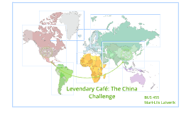 Levendary Café:The China Challenge