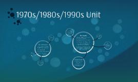 1970s/1980s/1990s Unit