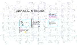 Zalety komputerowych baz danych