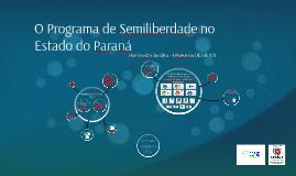 O Programa de Semiliberdade no Estado do Paraná