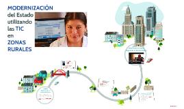 Modernización del Estado utilizando las TIC en Zonas Rurales