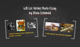 Copy of 6.05 Les Verbes Photo Essay