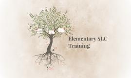 Elementary SLC Training