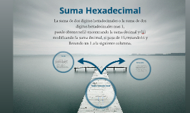 Copy of Copy of Suma Hexadecimal
