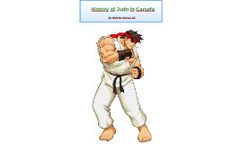 History of Judo In Canada